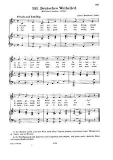 Deutsches Weihelied, für Stimme und Klavier: Deutsches Weihelied, für Stimme und Klavier by Albert Methfessel