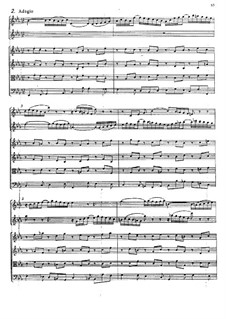 Concerto for Violin, Oboe and Strings No.1 in C Minor, BWV 1060r: Movement II by Johann Sebastian Bach