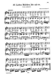 Liebes Mädchen, hör mir zu: Liebes Mädchen, hör mir zu by Joseph Haydn