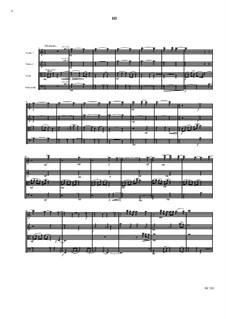 String quartet No.1: String quartet No.1 by David W Solomons