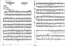 Tarantella Napoletana: For voice and piano (Italian and russian texts) by Gioacchino Rossini