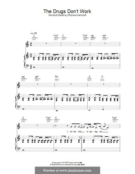 same drugs piano sheet music pdf