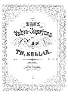 Valse-Caprice, Op.99 No.2: For piano by Theodor Kullak