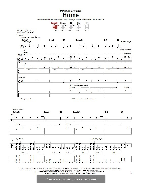 Related post of drum tabs three days grace