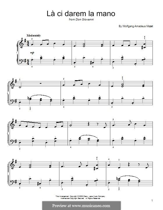 Reich mir die Hand, mein Leben: Für Klavier by Wolfgang Amadeus Mozart