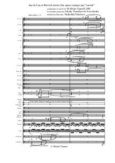 Suicide. Opera comique: Duo de Lisa et Bilevich by Christo Tsanoff