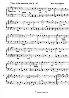 Valzers, Op.36: Valzer No.2 in La Maggiore by Marzia Gaggioli