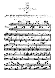 Fragmente: Akt III, für Solisten, Chor und Klavier by Giuseppe Verdi