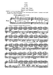 Fragmente: Akt IV, für Soloists, Choir und Klavier by Giuseppe Verdi