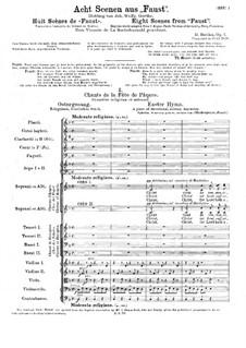 Acht Szenen aus 'Fausts Verdammnis', H.33: Acht Szenen aus 'Fausts Verdammnis' by Hector Berlioz