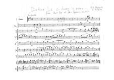 Reich mir die Hand, mein Leben: Flötenstimme by Wolfgang Amadeus Mozart
