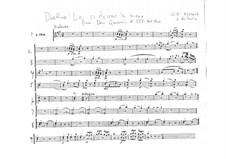 Reich mir die Hand, mein Leben: Oboenstimme by Wolfgang Amadeus Mozart