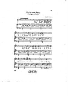 O hehre Nacht: Für Stimme und Klavier by Adolphe Adam