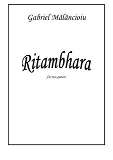 Ritambhara: Ritambhara by Gabriel Mlncioiu