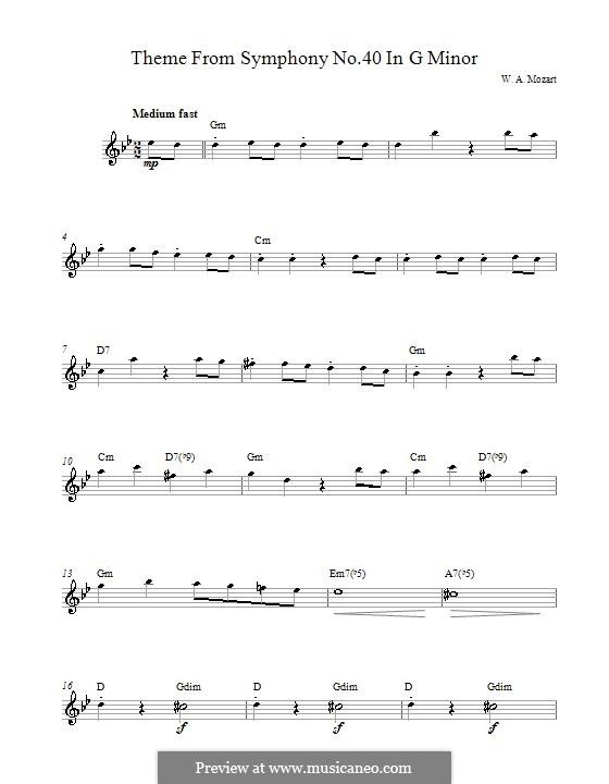 Teil I: Melodische Linie by Wolfgang Amadeus Mozart