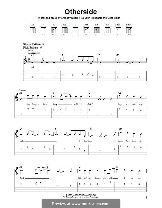 Californication Red Hot Chili Peppers Chords - The Torn Prince ...