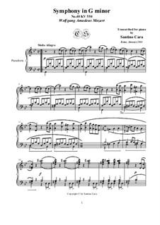 Movement I: Para Piano by Wolfgang Amadeus Mozart