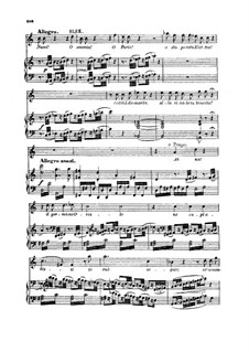 O smania! O furie!... D'Oreste, d'Ajace: For soprano and piano by Wolfgang Amadeus Mozart
