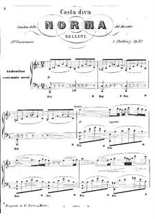 Casta diva che inargenti norma por v bellini partituras on m sicaneo - Norma casta diva bellini ...