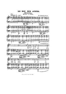 Erlkönig (Forest King), D.328 Op.1: Partitura piano-vocal by Franz Schubert