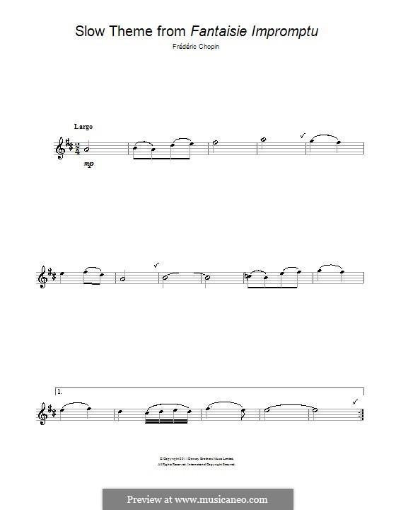Шопен фантазия-экспромт скачать ноты
