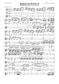 Часть I: Для двух синтезаторов с автоаккомпанементом by Вольфганг Амадей Моцарт