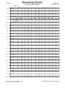 О, благодать: For fanfare band by folklore
