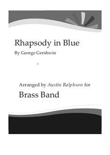 Рапсодия в стиле блюз: For brass band by Джордж Гершвин