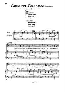Caro mio ben (O Maiden Dear): Medium voice in E Flat Major by Томмазо Джордани