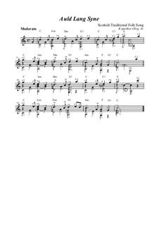 Auld Lang Syne: Для гитары by folklore