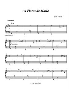As Flores da Maria: As Flores da Maria by Luiz Simas