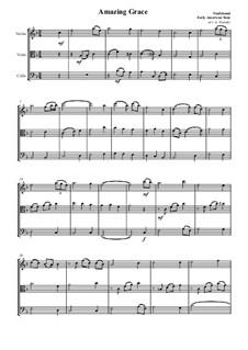 О, благодать: Для струнного трио by folklore