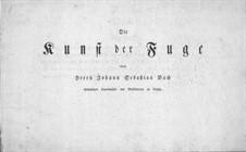 Искусство фуги, BWV 1080: Переложение для струнного квартета by Иоганн Себастьян Бах