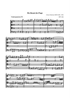 Искусство фуги, BWV 1080: No.6 by Иоганн Себастьян Бах