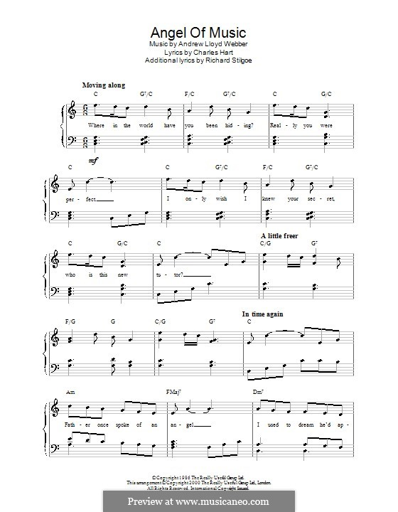 Песня Ангелов Ноты