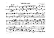 The Vesper Voluntaries, Op.14: Nr.5 Vesperklänge by Edward Elgar