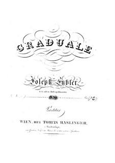 Graduale de tempore, HV 42: Graduale de tempore by Joseph Eybler