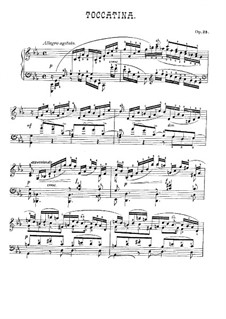 Toccatina, Op.25: Toccatina by Adolf von Henselt