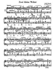 Two Short Waltzes, Op.28: Complete set by Adolf von Henselt