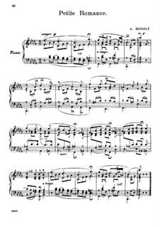 Petite Romance: Petite Romance by Adolf von Henselt