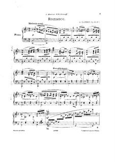 Three Pieces for Piano, Op.18: Three Pieces for Piano by Alexander Ilyinsky