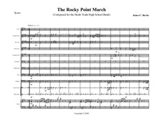 The Rocky Point March: The Rocky Point March by James Burke