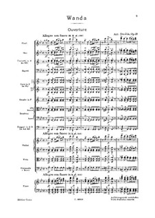 Vanda, B.97 Op.25: Vanda by Antonín Dvořák