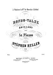 Rondo-Valse Brillant, Op.11: Rondo-Valse Brillant by Stephen Heller