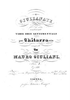 Giulianate for Guitar, Op.148: Complete set by Mauro Giuliani