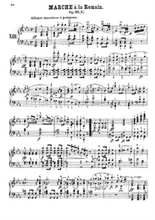 Marche à la Romain, Op.111b: Marche à la Romain by Johann Nepomuk Hummel