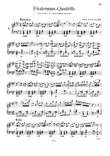 The Bat Quadrille, Op.363: The Bat Quadrille by Johann Strauss (Sohn)