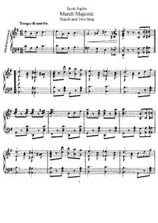 March Majestic: March Majestic by Scott Joplin