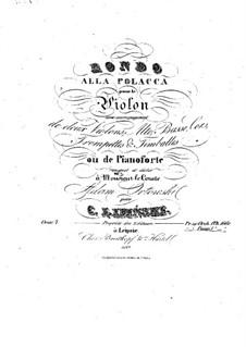 Rondo Alla Polacca, Op.7: Rondo Alla Polacca by Karol Józef Lipiński