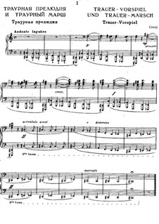Funeral Prelude and Funeral March, S.206: Complete set by Franz Liszt